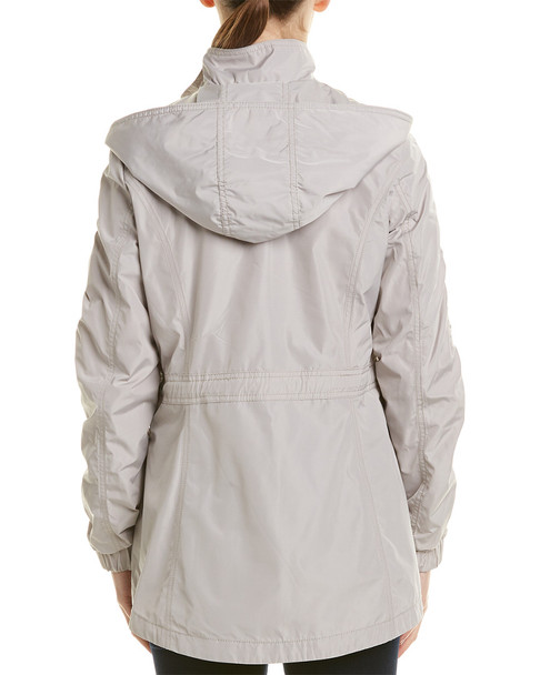 Laundry by Shelli Segal Quilted Hooded Windbreaker~1411354615