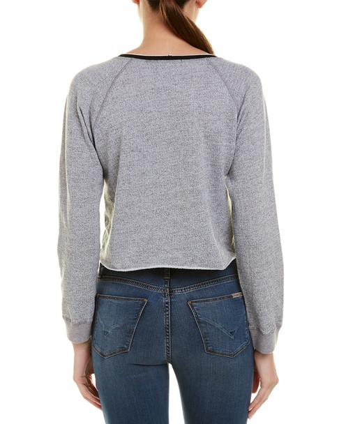 Monrow Raglan Crop Pullover~1411383973