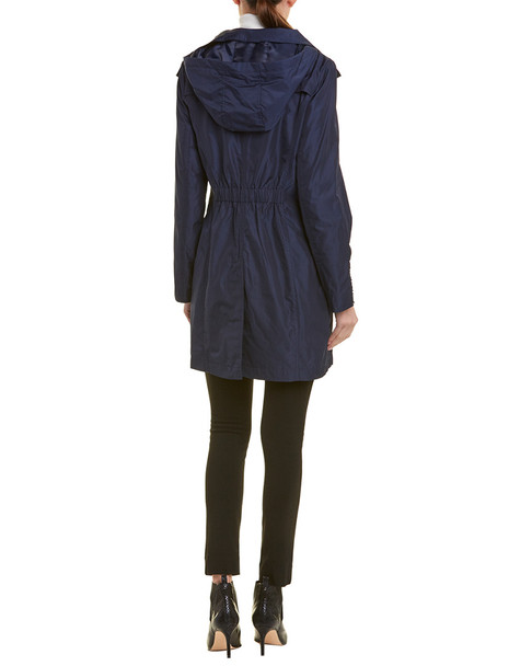 Tahari Hooded Raincoat~1411492504
