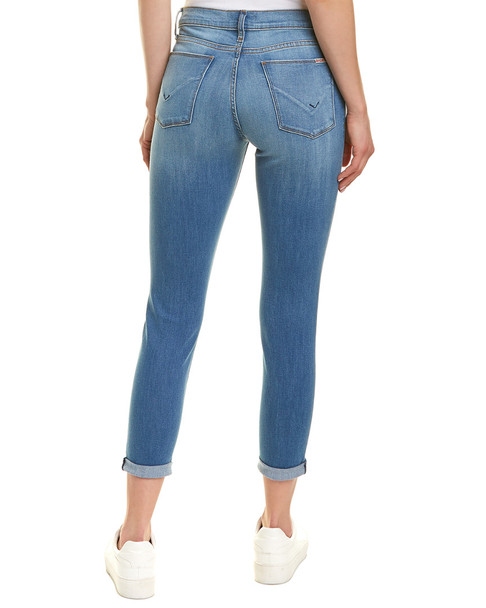 HUDSON Jeans Harkin Middle Sky Blue Super Skinny Crop~1411553195