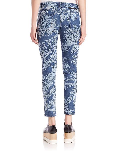 Stella McCartney Tiger-Print Skinny Ankle Leg~1411654389