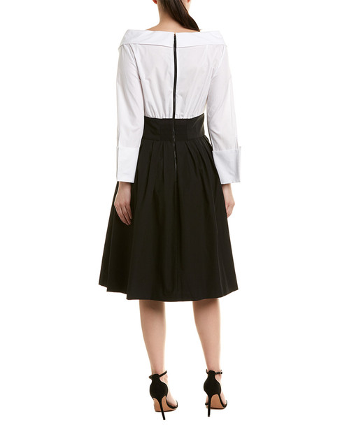 alice + olivia Illiana Midi A-Line Party Dress~1411727475