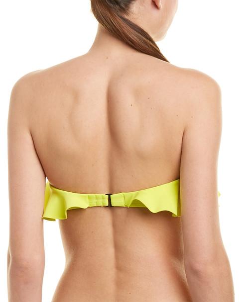 Kendall + Kylie Ruffle Bandeau Bikini Top~1411758946