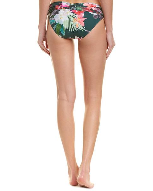 La Blanca Shirred Band Bikini Bottom~1411934363