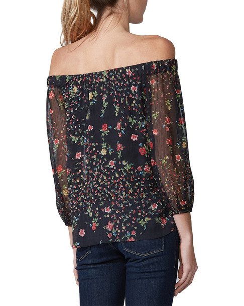 Bailey 44 Luba Off Shoulder Floral Printed Top~1411961300