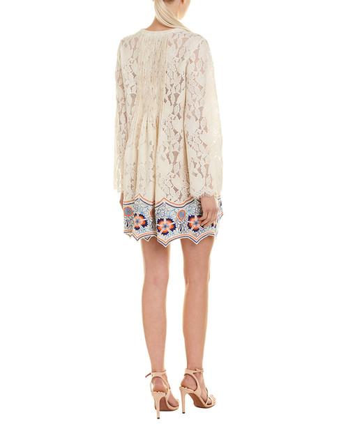1st Sight Lace Mini Dress~1411992436