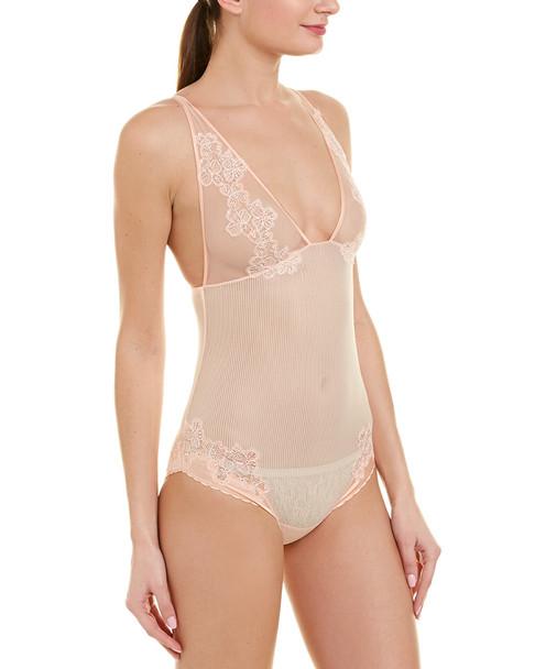 La Perla Silk-Blend Bodysuit~1412140596