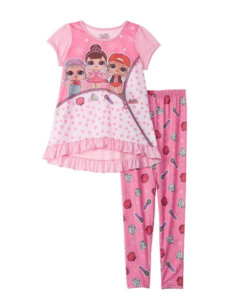 Character Sleepwear L.O.L. Surprise! 2pc Pajama Set~1511135028