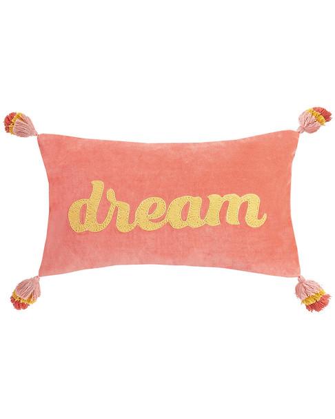 Peking Handicraft Dream W/Poms Pillow~30300925760000