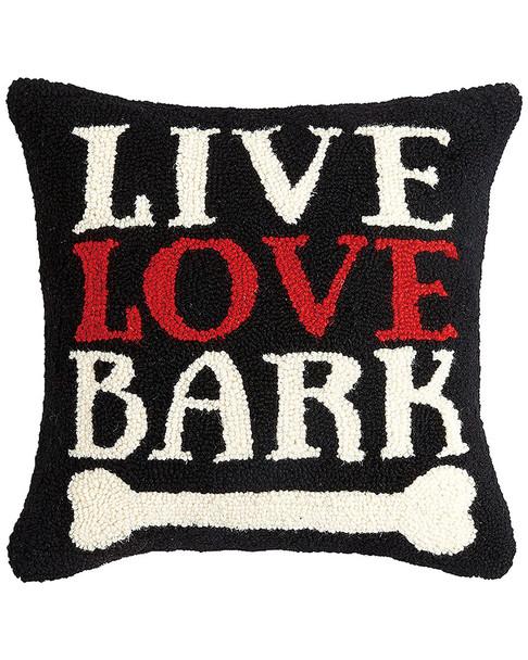Peking Handicraft Live Love Bark Hook Pillow~30305903030000