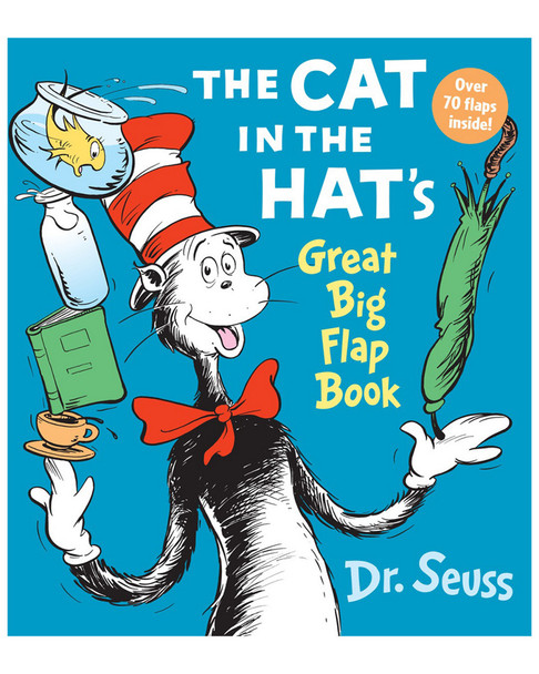 Penguin Random House The Cat in the Hat Great Big Flap Book~50408865350000