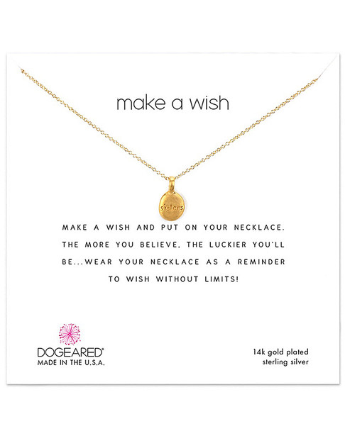 Dogeared 14K Over Silver Necklace~60301692380000