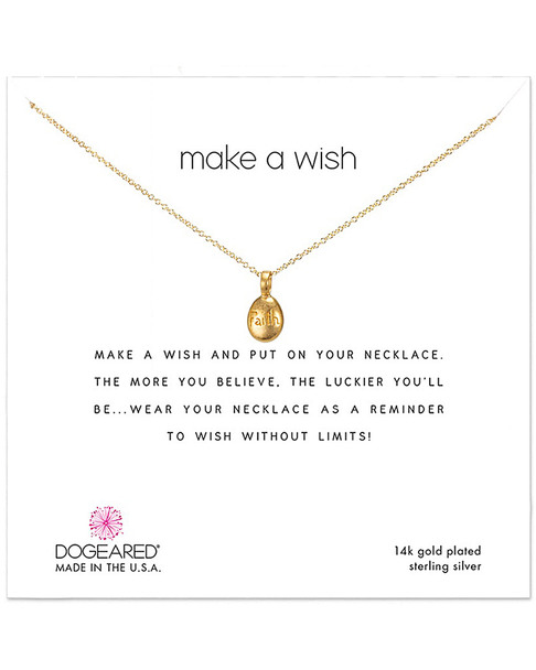 Dogeared 14K Over Silver Necklace~60301692470000