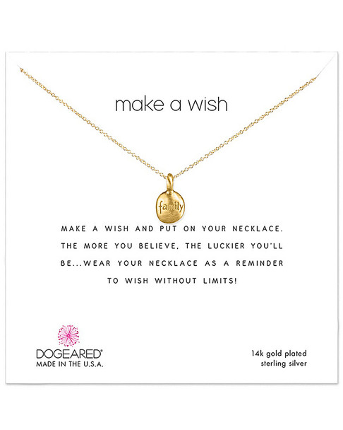 Dogeared 14K Over Silver Necklace~60301692480000