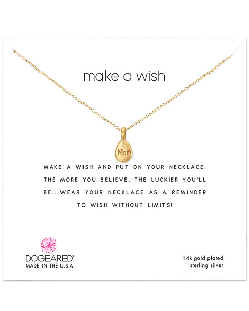 Dogeared 14K Over Silver Necklace~60301692540000