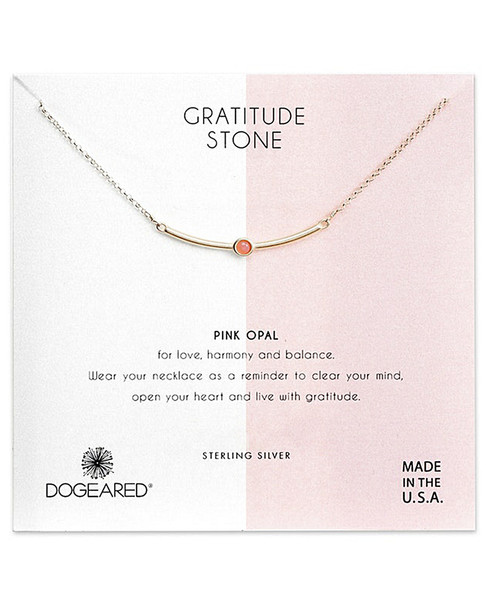 Dogeared Silver Crystal Necklace~60301692640000