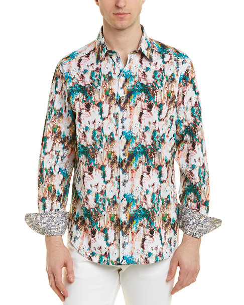 Robert Graham Hidden Depths Woven Shirt~1010133844