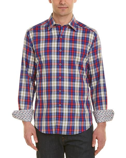Robert Graham Side Lines Classic Fit Woven Shirt~1010190706