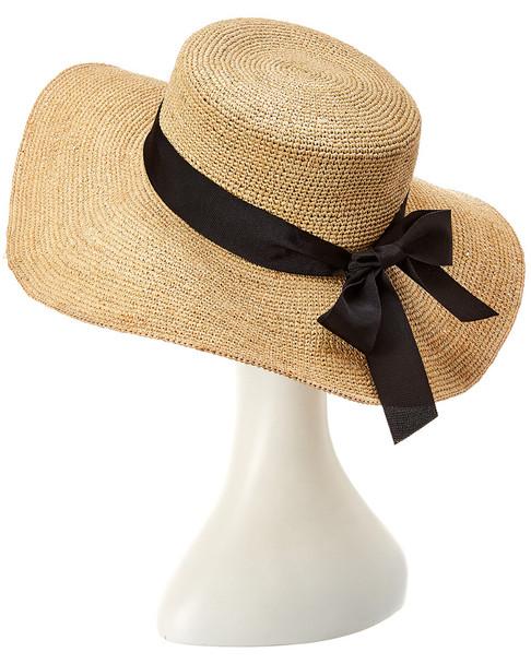 Hat Attack Raffia Crochet Sunhat~11711609140000