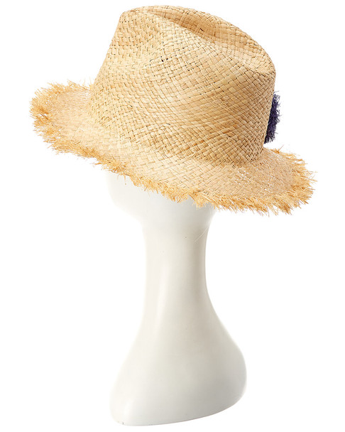 Hat Attack Fringed Small Brim Hat~11711609230000