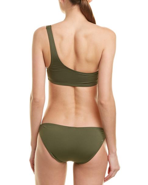 Proenza Schouler 2pc One-Shoulder Bikini Set~1411196510