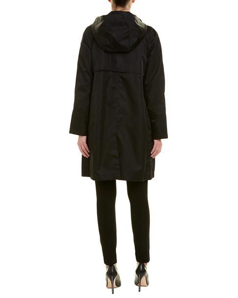 Jane Post Mock Double Raincoat~1411476255