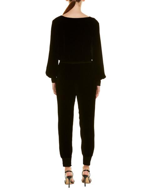 YFB CLOTHING Ambrosia Silk-Blend Jumpsuit~1411827899
