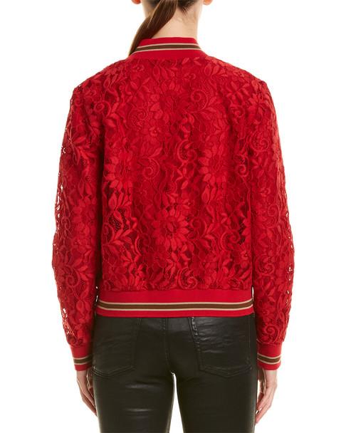 Lavender Brown Lace Jacket~1411916332