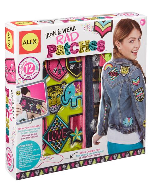 ALEX Brands Iron & Wear Rad Patches~50400272630000