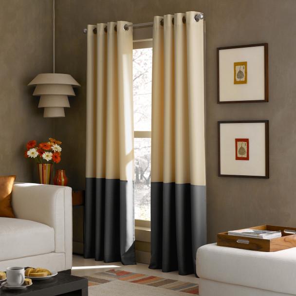 Kendall Grommet Curtain~Butter*1Q80370