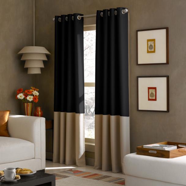 Kendall Grommet Curtain~Khaki*1Q80370