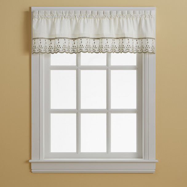 Abby Tailored Valance~1Y400300