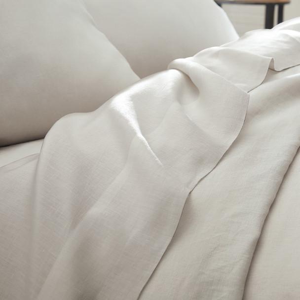 European Linen Sheet Set~Platinum*2A8654S