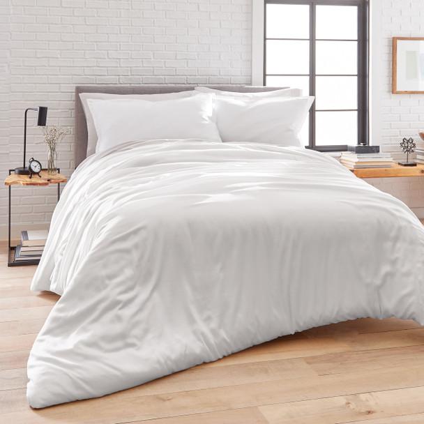 Washed Tencel Duvet Set~White*2A8655D