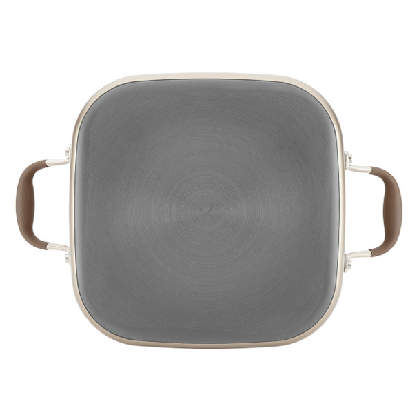 Anolon Advanced Hard-Anodized Nonstick 7-Quart Covered Square Dutch Oven - Bronze~83867
