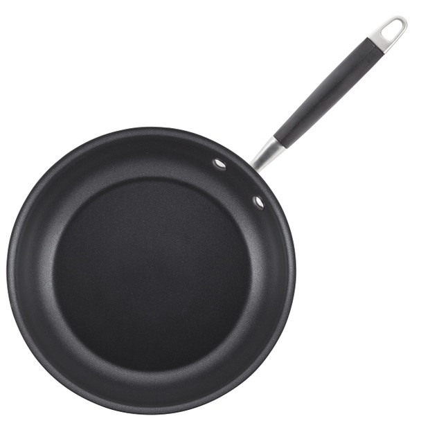 Anolon Tri-Ply Onyx Stainless Steel French Skillet Twin Pack~31532