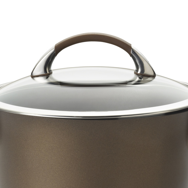 Circulon Symmetry Hard-Anodized Nonstick 5.5-Quart Covered Casserole - Chocolate~82769