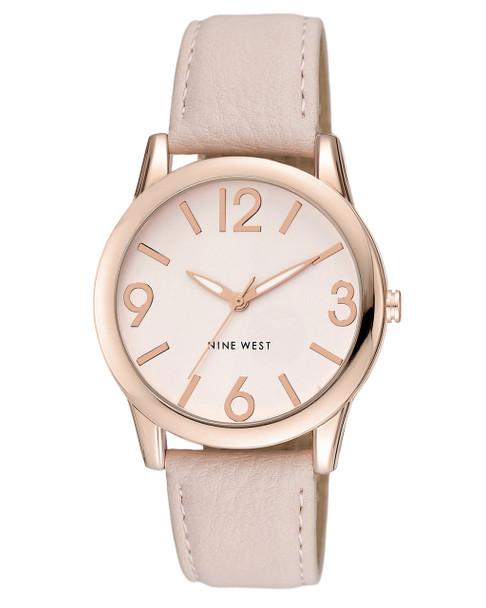 Nine West Women's Blush Strap Watch~NW/1158PKRG