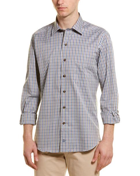 David Donahue Casual Woven Shirt~1010167162