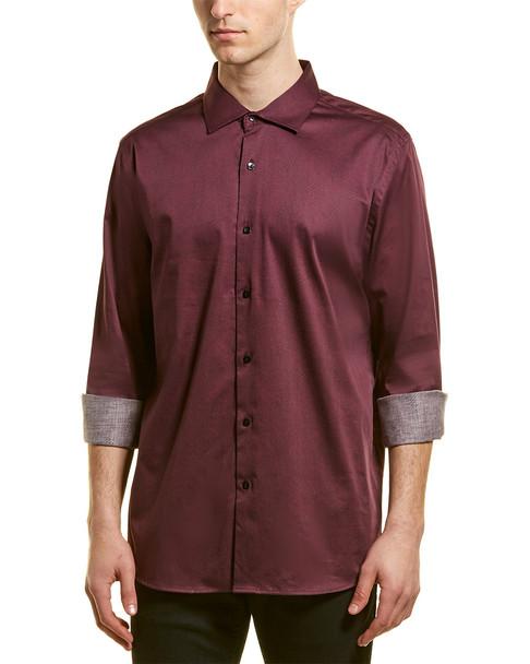 KARL LAGERFELD Swirl Print Woven Shirt~1010197022