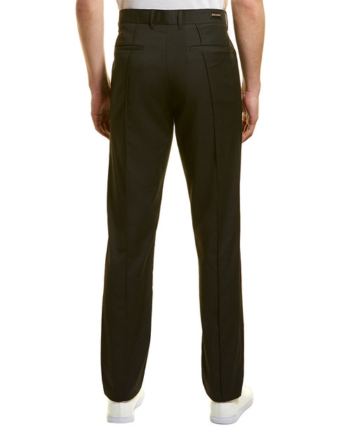 KARL LAGERFELD Pintuck Textured Trouser~1010197043