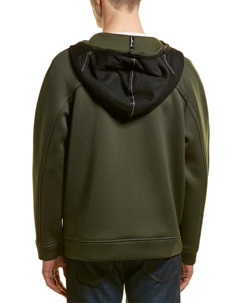 KARL LAGERFELD Neoprene Pipe Hooded Jacket~1010197092