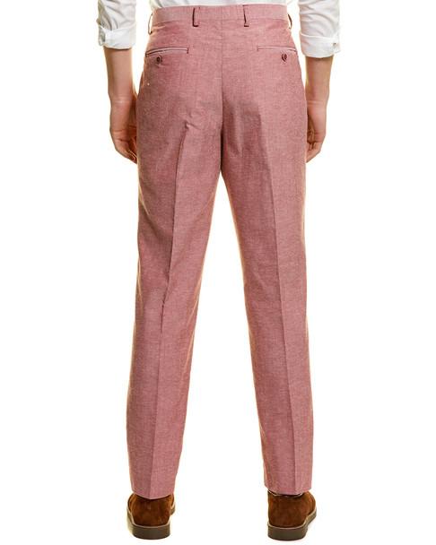 Paisley & Gray Downing Linen-Blend Slim Pant~1011964987