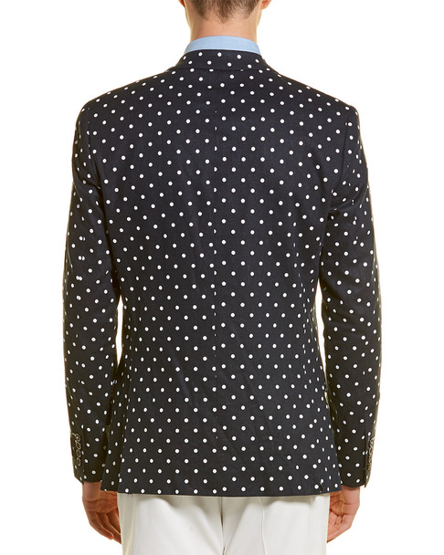 Paisley & Gray Dover Linen-Blend Slim Fit Blazer~1011964988
