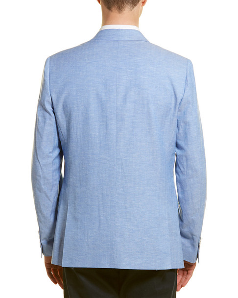 Paisley & Gray Linen-Blend Slim Fit Blazer~1011964992