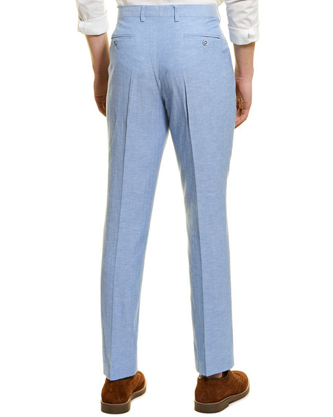 Paisley & Gray Downing Linen-Blend Slim Fit Pant~1011964993