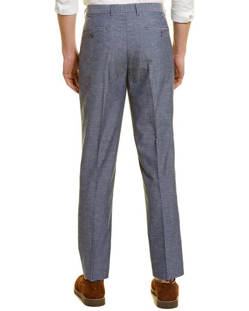 Paisley & Gray Downing Linen-Blend Slim Pant~1011964995