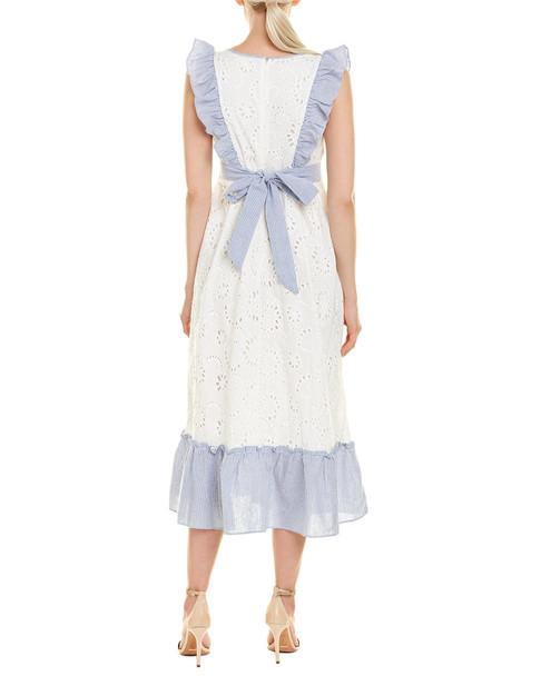 Stellah Eyelet Maxi Dress~1411006664