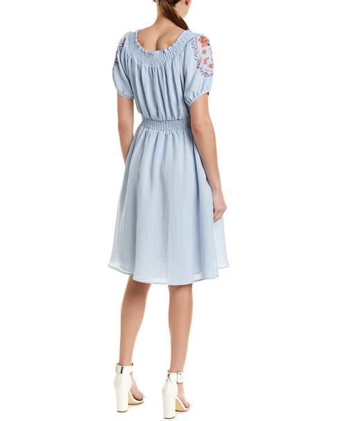 Stellah Cinched Waist A-Line Dress~1411081112