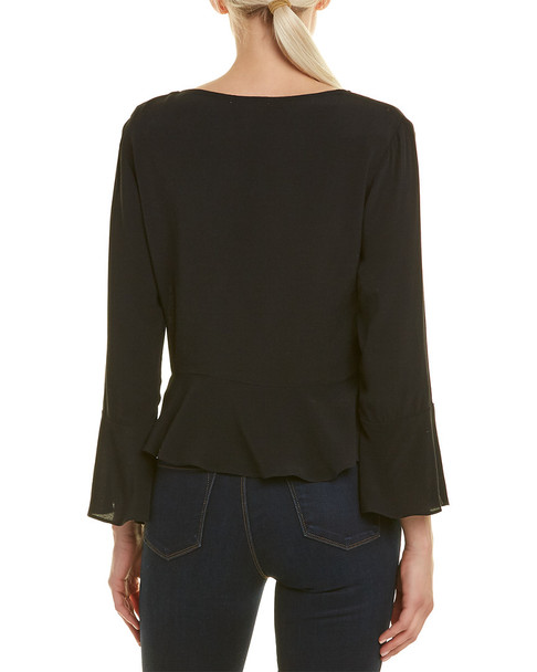 Willow & Clay Tie-Front Top~1411098919